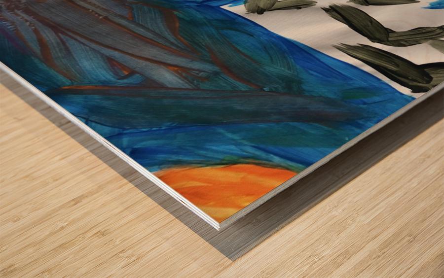 Nola name Wood print