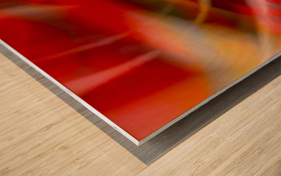 Rhythms of Samba Wood print