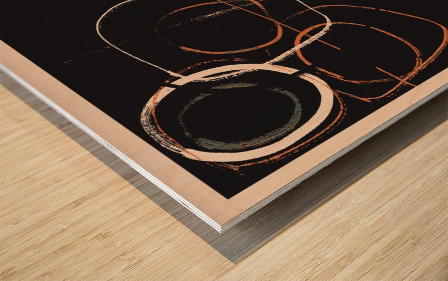 ARTE -1  Wood print