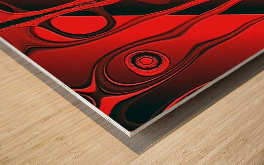 Fantaisie Fantasy Wood print