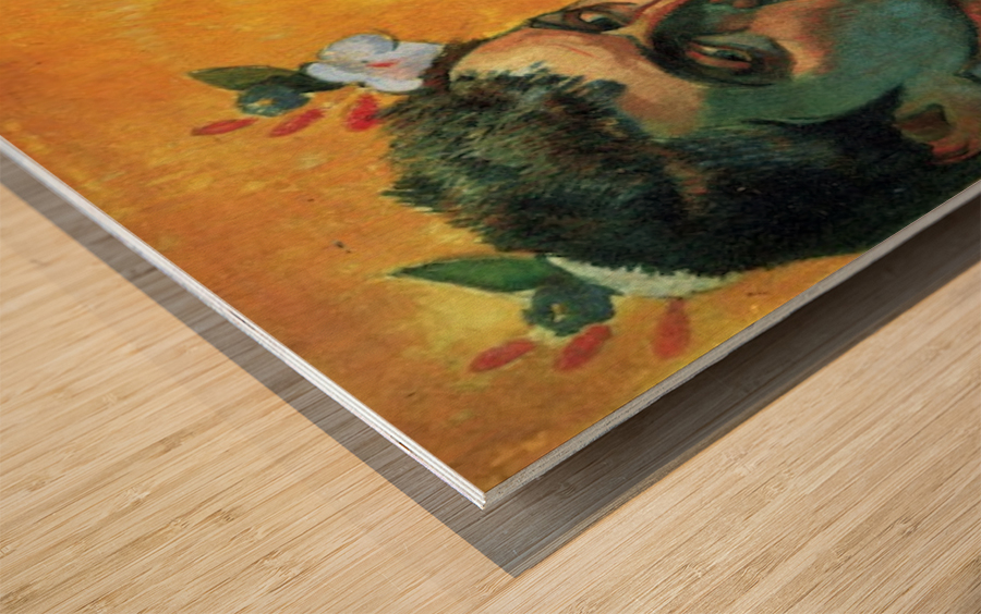 Les Miserables by Gauguin Wood print
