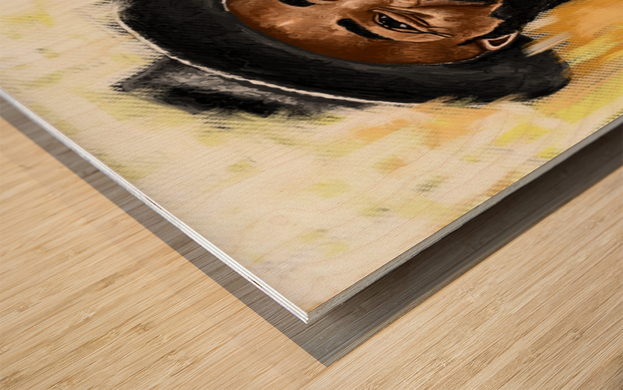 Manifestivity Wood print