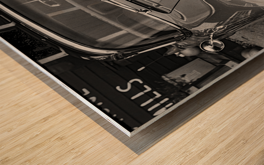 57 Caddy Mojo Wood print