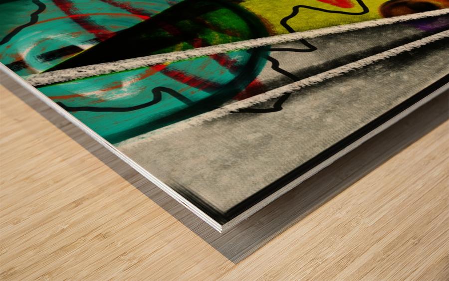 Creating Life Wood print