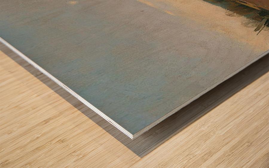 Bad Liebenzell Wood print