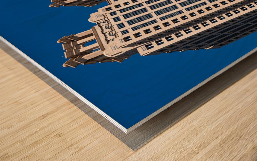 191 Peachtree Tower   Atlanta GA 6969 Wood print