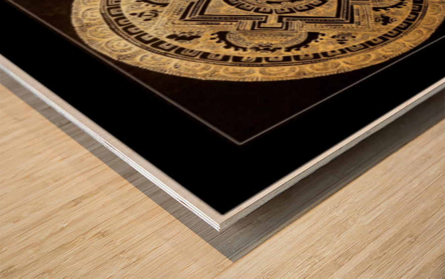 Thangka Collector's Edition Wood print