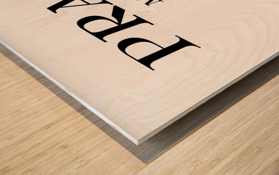 Prada Marfa Mileage Wood print