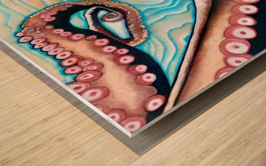 TripOPapus Wood print