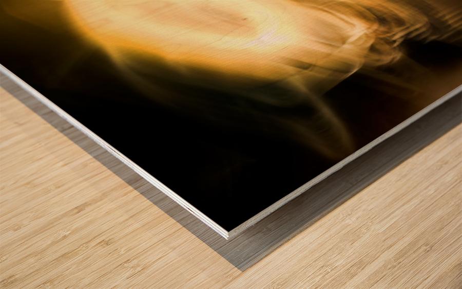 BOOM Wood print
