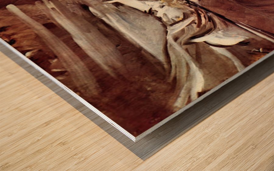 Grey game by Giovanni Boldini Wood print