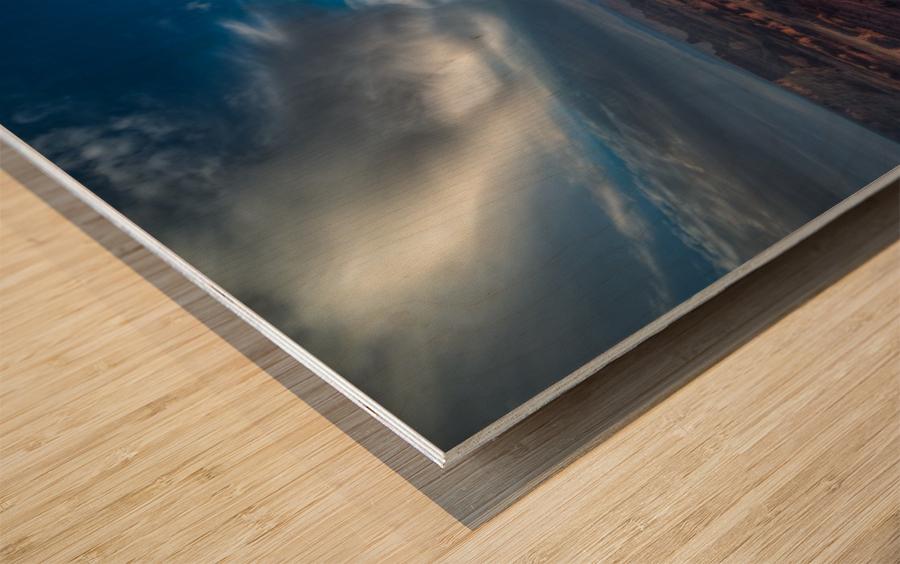 SUNRISE OVER DEAD HORSE CANYON-UTAH-6 Wood print
