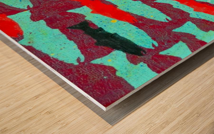 Critical Mass Wood print