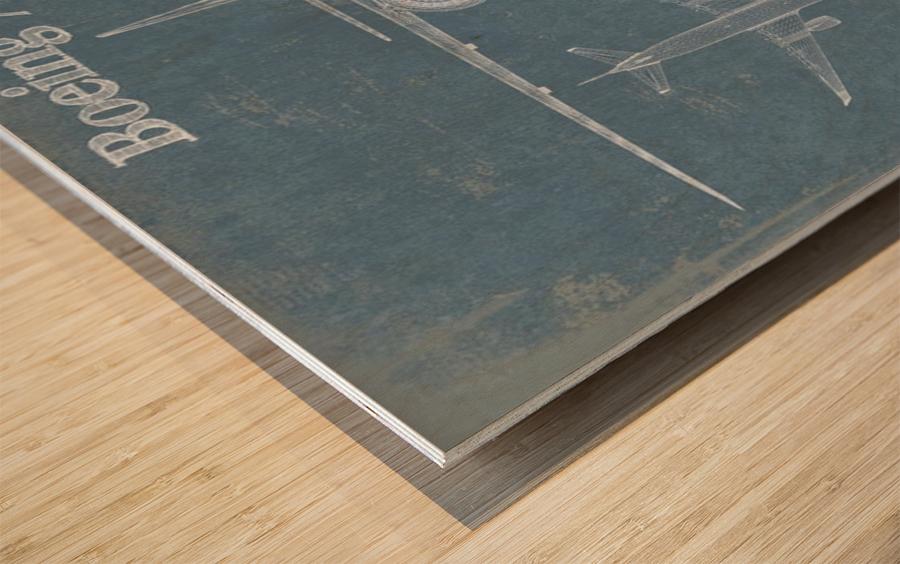 777 Wood print