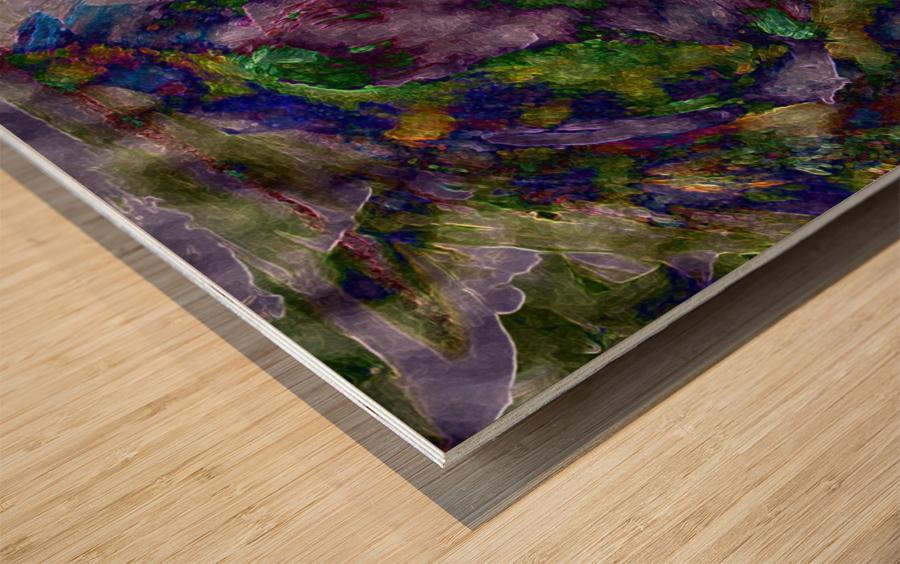 The Energy of Dance Wood print