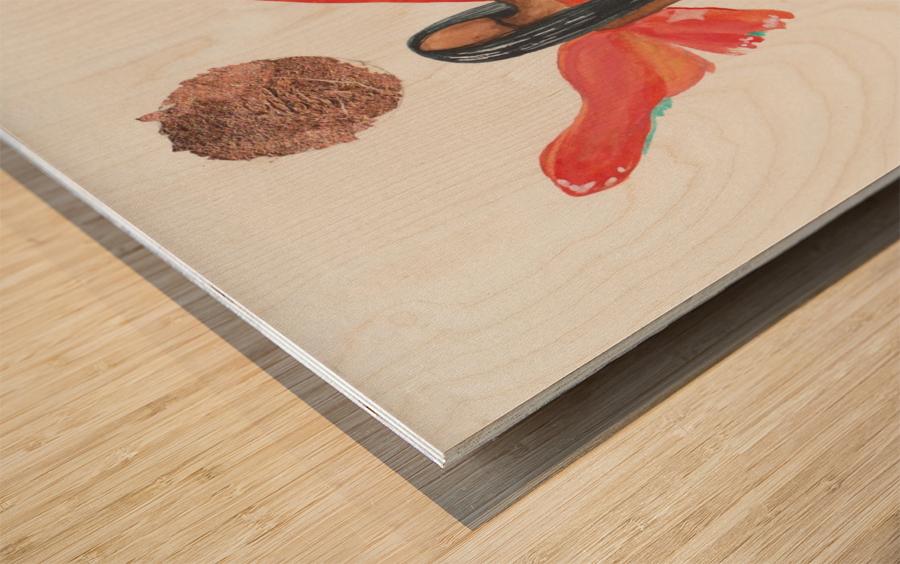 Sunchild Wood print