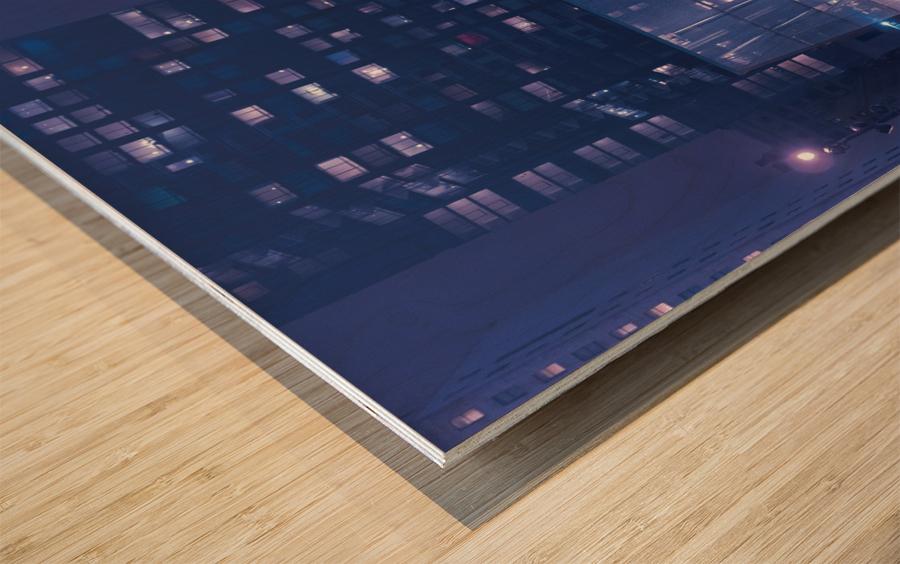 The Future Awaits Wood print