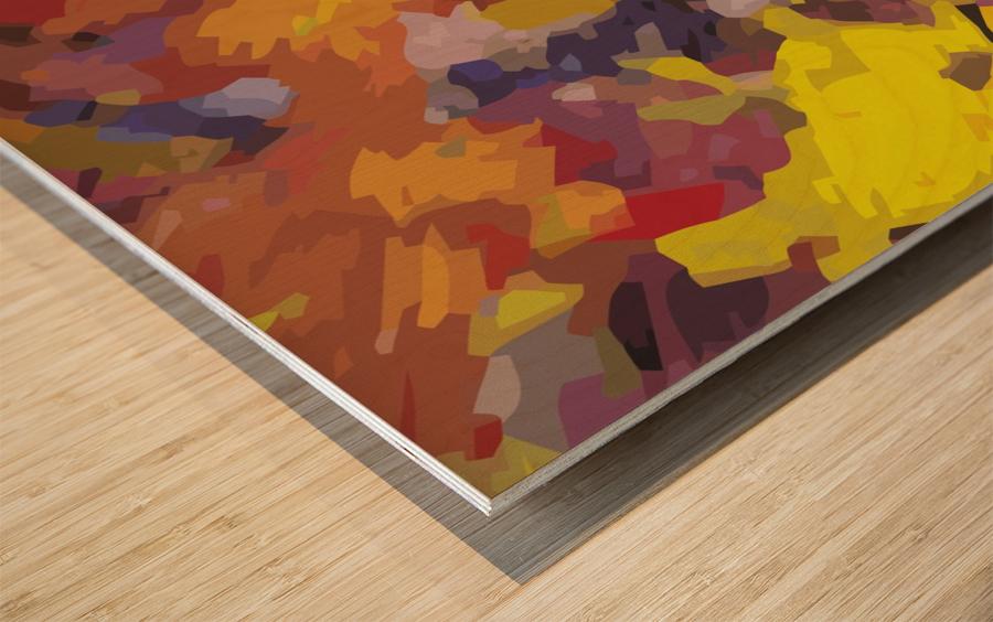 immaculate perception Wood print