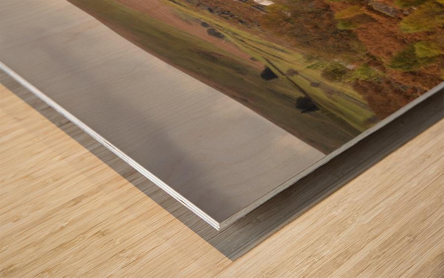 Elan Valley top dam Wood print