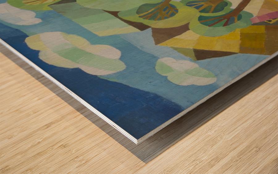 5 Wood print