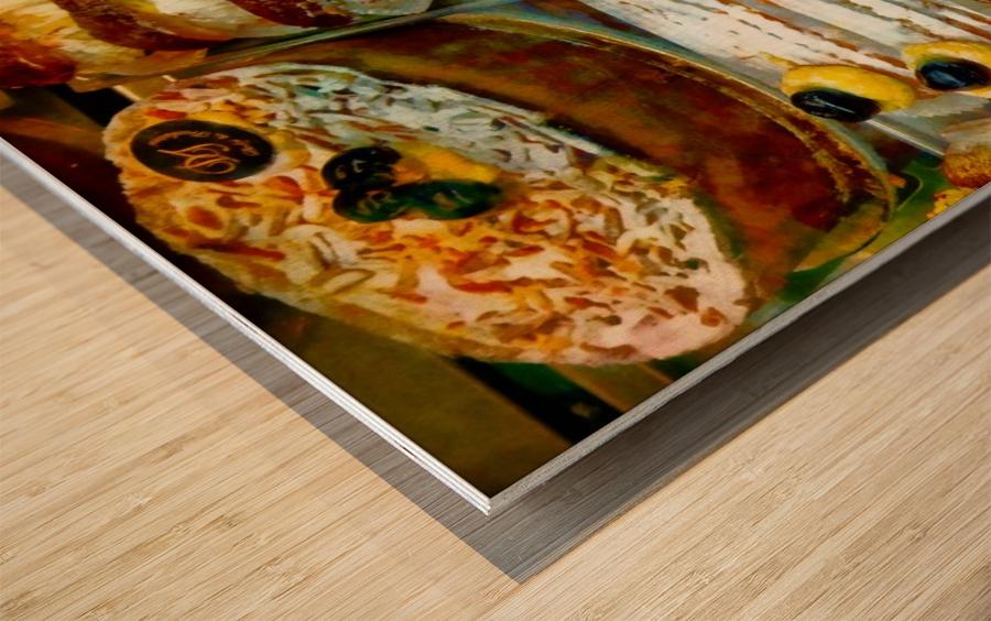 Italian Temptations Wood print