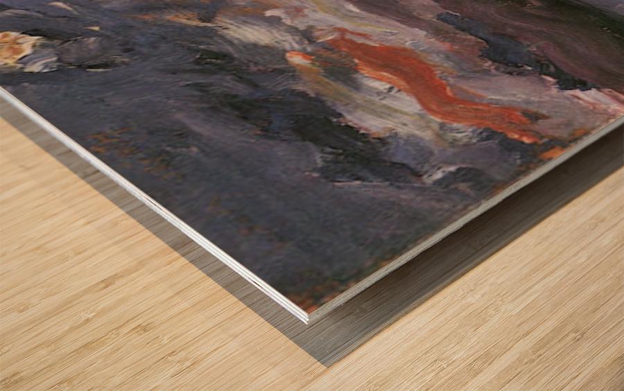Moonlight by Lovis Corinth Wood print