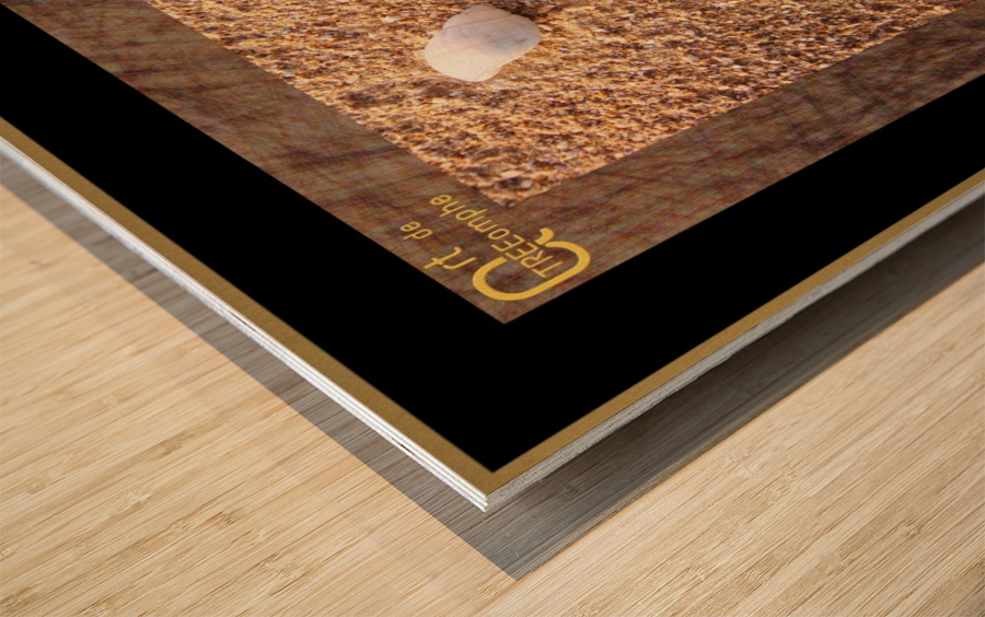 the child - English Wood print
