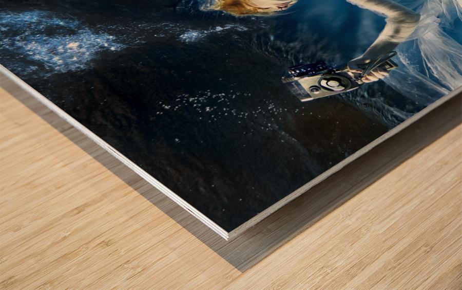 Aqua-Theatre Wood print