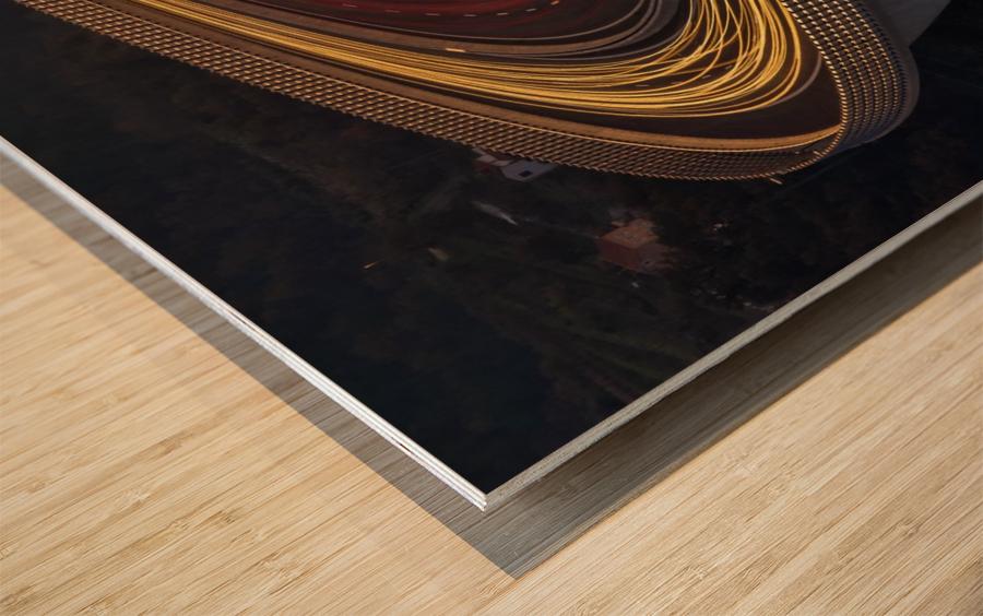 Viadukt AŒrni Kal by Jaka Ivancic  Wood print