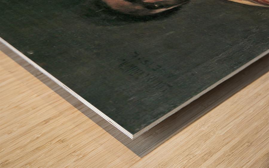 Negro Othello by Lovis Corinth Wood print