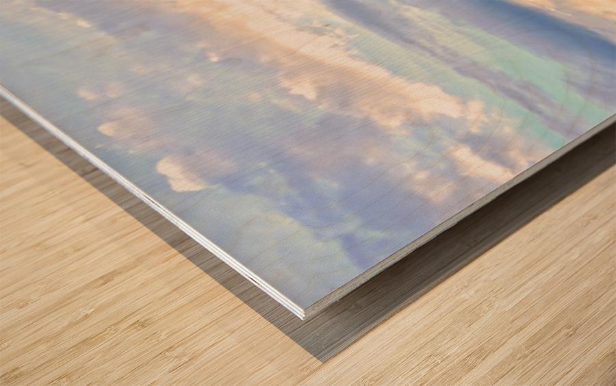 Mont St Michael Rising Tide - France Wood print