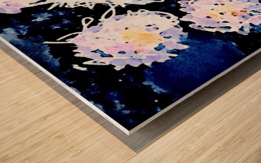 Quantum Wood print