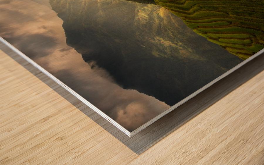 A Tuscan Feel in China Wood print