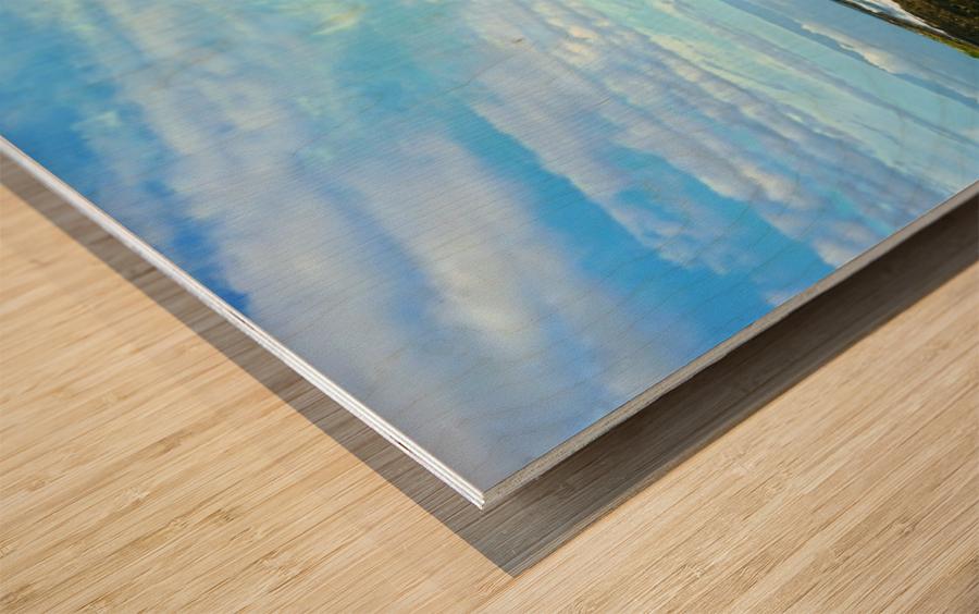 Blue Day - Hawaiian Islands Wood print