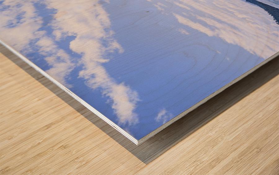 Perfect Day at the Lake - California Wood print
