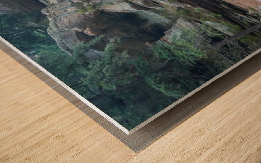 Cedar Falls apmi 1627 Wood print