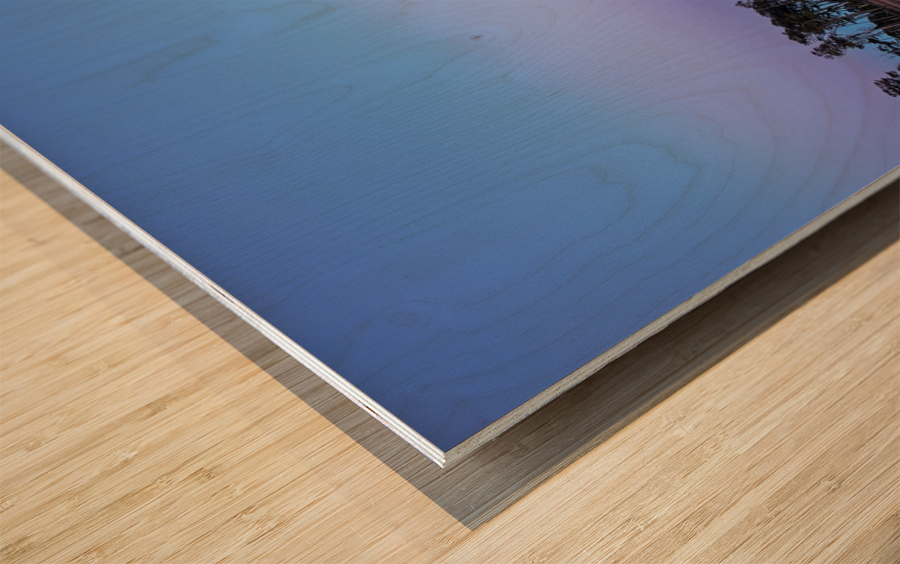Twilight Shadow ap 2789 Wood print