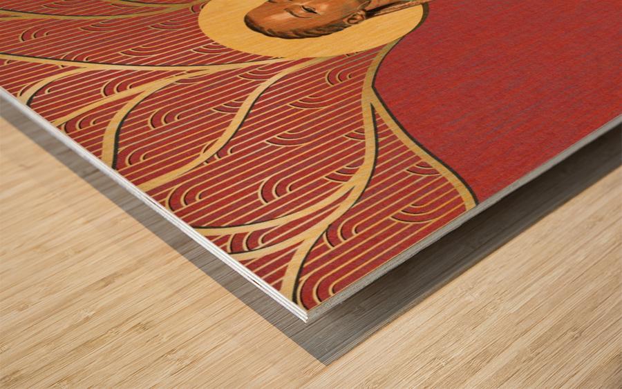 The Curve Wood print