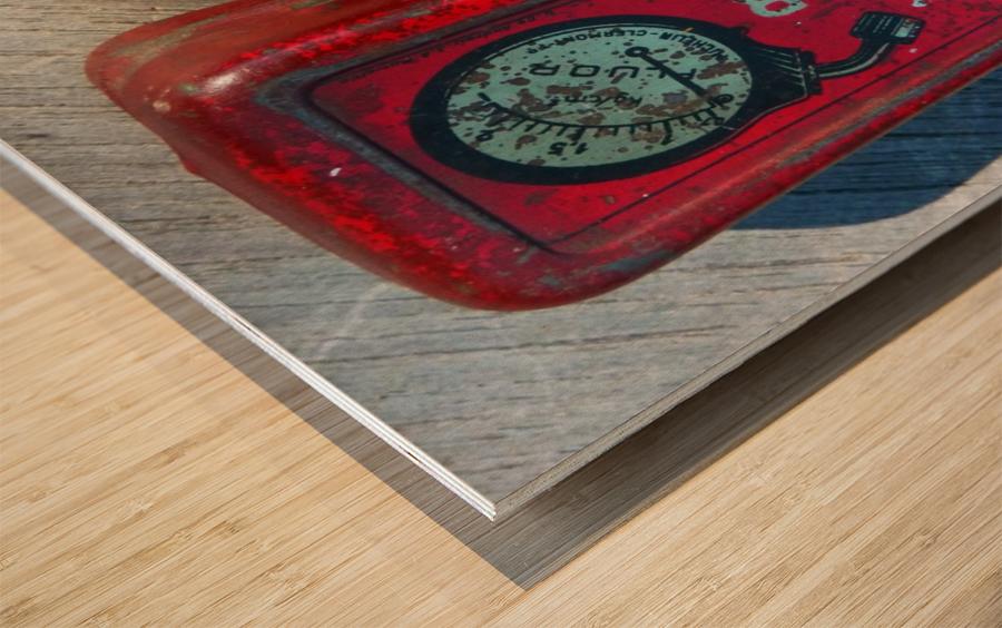 Fluor Wood print