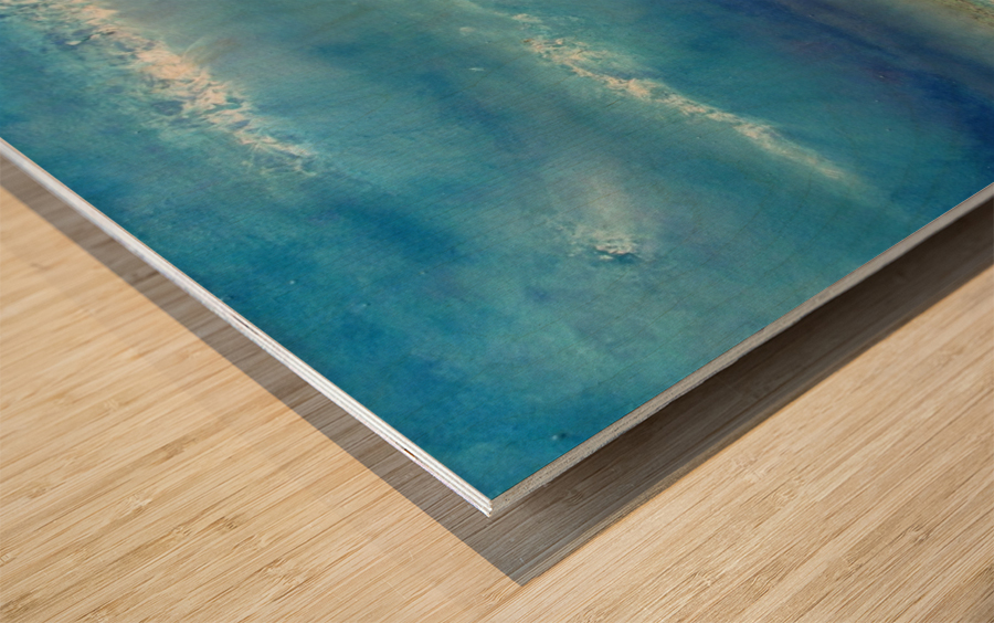 Infinity Beyond The Blue Wood print