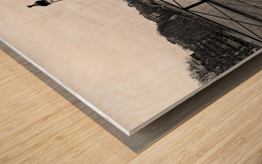Wooden landscape Impression sur bois