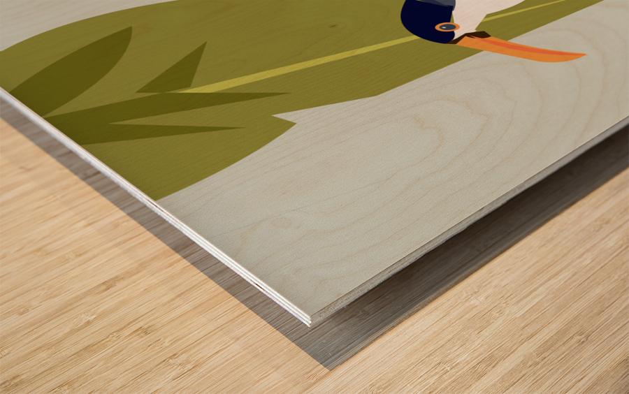 Toucanish Wood print