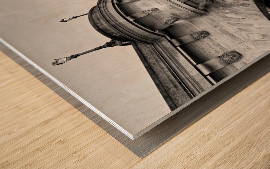 Pont Neuf Impression sur bois
