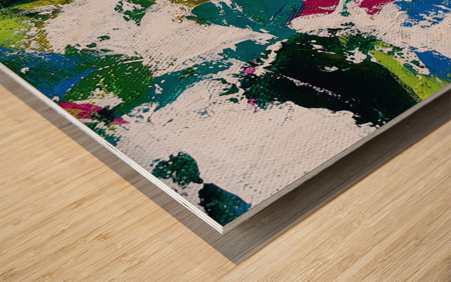 Tropical - Horizontal Wood print