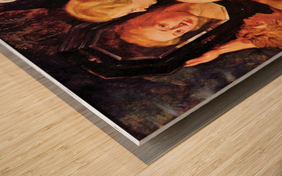 Toilette of Venus by Rubens Wood print