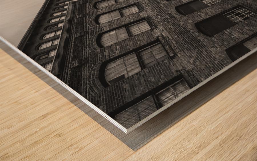 SMOKESTACK NUMBER ELEVEN Wood print