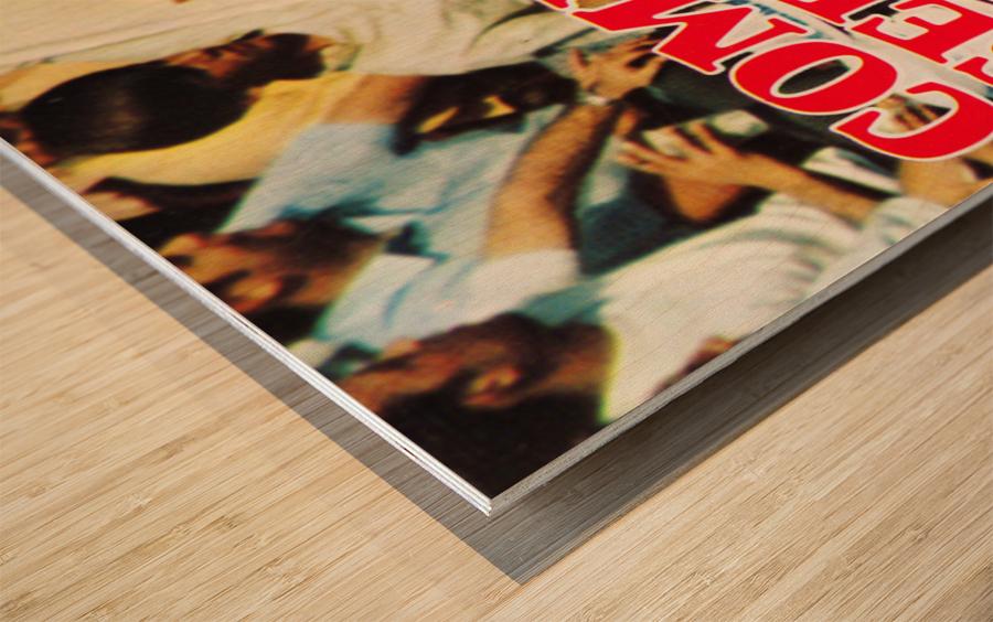 1970 St. Louis Cardinals Baseball Poster Wood print
