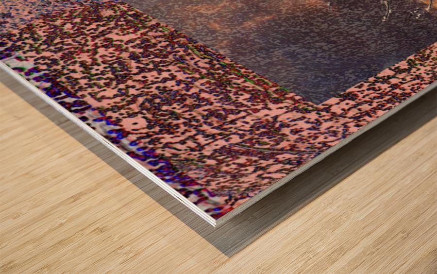 Tree Layers 5 Wood print