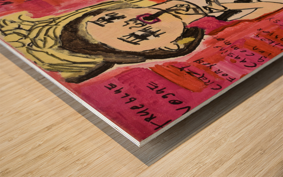 Madonna. Rick F Wood print