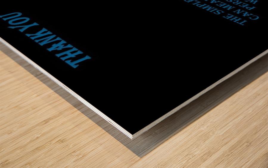 18.The Simple Word of Wood print